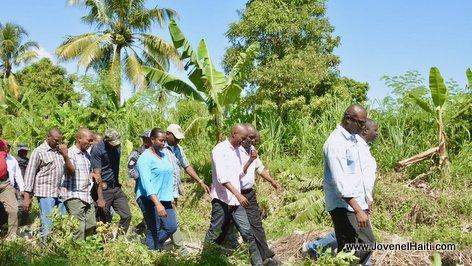 PHOTO: Haiti President Jovenel Moise, Vallée de l'Artibonite