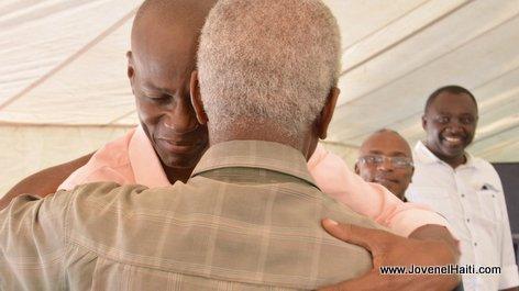 PHOTO: Haiti President Jovenel Moise, Vallée de l'Artibonite - Caravane Changement