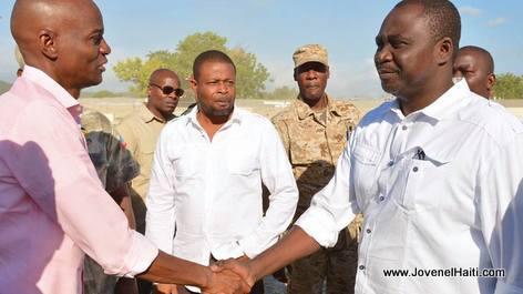 PHOTO: Haiti - President Jovenel Moise Rencontre les propriétaires de moulins de l'Artibonite