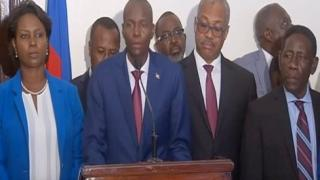 RE: VIDEO Haiti : President Jovenel Moise PALE 22 Sept 2017, Tande kisa li di